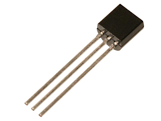 BC549C Transistor - NPN, 0,13